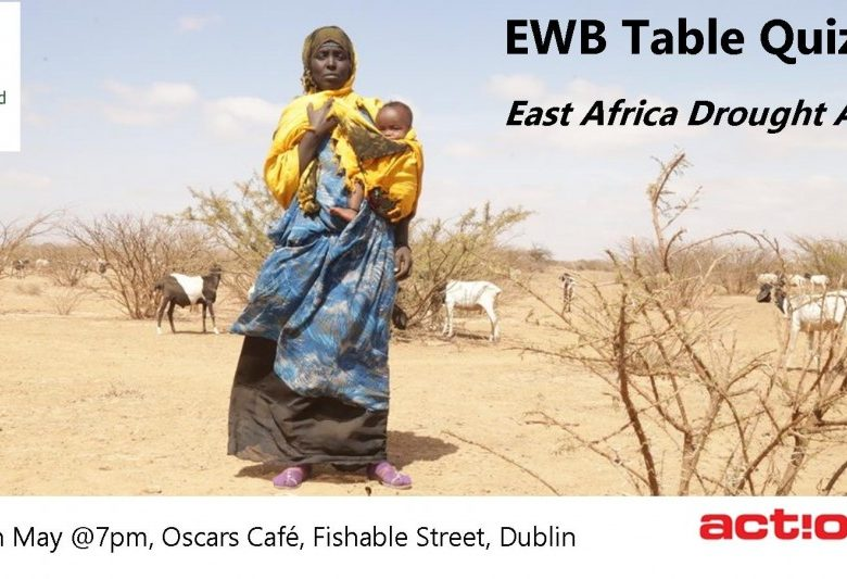 EWB Table Quiz, Thurs 25th May