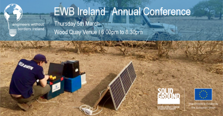 Tickets available for EWB Conference